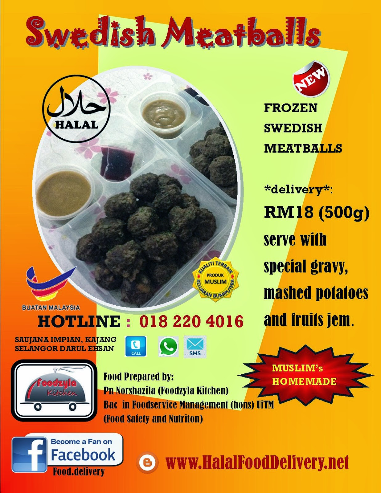 FROZEN Swedish Meatballs